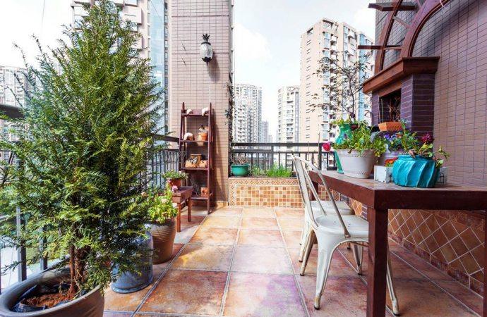 Come pulire terrazzi e balconi